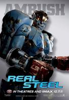 Real Steel - Movie Poster (xs thumbnail)