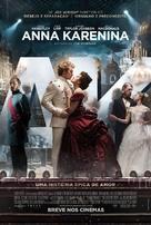 Anna Karenina - Brazilian Movie Poster (xs thumbnail)