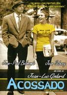 À bout de souffle - Brazilian Movie Poster (xs thumbnail)