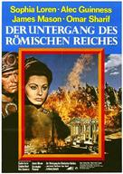 The Fall of the Roman Empire - German Movie Poster (xs thumbnail)