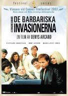 Invasions barbares, Les - Swedish Movie Cover (xs thumbnail)