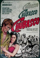 Chubasco - German Movie Poster (xs thumbnail)