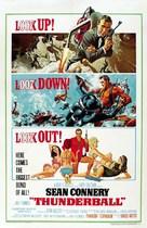 Thunderball - Movie Poster (xs thumbnail)