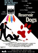 Reservoir Dogs - Spanish Movie Poster (xs thumbnail)