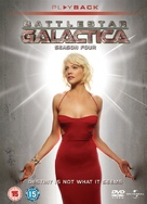 """Battlestar Galactica"" - British DVD cover (xs thumbnail)"