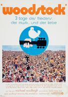 Woodstock - German Movie Poster (xs thumbnail)