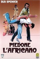 Piedone l'africano - Italian DVD cover (xs thumbnail)