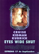Eyes Wide Shut - Spanish Movie Poster (xs thumbnail)