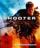 Shooter - German Blu-Ray cover (xs thumbnail)