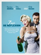 The Seven Year Itch - French Re-release movie poster (xs thumbnail)