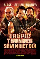 Tropic Thunder - Vietnamese Movie Poster (xs thumbnail)