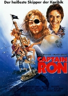 Captain Ron - German Movie Poster (xs thumbnail)