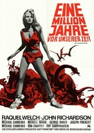 One Million Years B.C. - German Movie Poster (xs thumbnail)