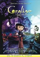 Coraline - Italian Movie Poster (xs thumbnail)