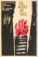Le trou - Cuban Movie Poster (xs thumbnail)