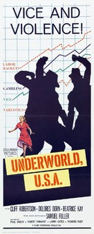 Underworld U.S.A. - Theatrical poster (xs thumbnail)