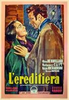 The Heiress - Italian Movie Poster (xs thumbnail)