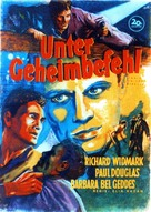 Panic in the Streets - German Movie Poster (xs thumbnail)