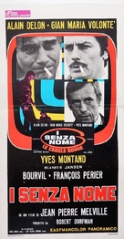 Le cercle rouge - Italian Movie Poster (xs thumbnail)