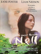 Nell - Argentinian Movie Poster (xs thumbnail)