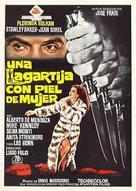 Una lucertola con la pelle di donna - Spanish Movie Poster (xs thumbnail)