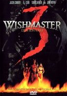 Wishmaster 3: Beyond the Gates of Hell - Swedish DVD movie cover (xs thumbnail)