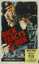 Dick Tracy's G-Men - Re-release poster (xs thumbnail)
