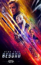 Star Trek Beyond - Italian Movie Poster (xs thumbnail)