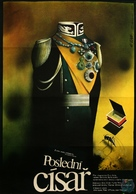 The Last Emperor - Czech Movie Poster (xs thumbnail)