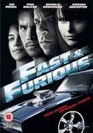 Fast & Furious - British DVD cover (xs thumbnail)