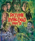Return of the Living Dead Part II - Blu-Ray movie cover (xs thumbnail)