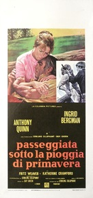 Walk in the Spring Rain - Italian Movie Poster (xs thumbnail)