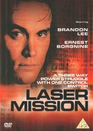 Laser Mission - British DVD movie cover (xs thumbnail)