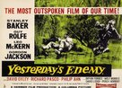 Yesterday's Enemy - British Movie Poster (xs thumbnail)