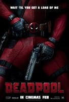 Deadpool - British Movie Poster (xs thumbnail)