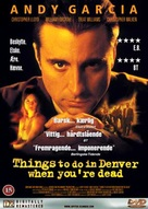 Things to Do in Denver When You're Dead - Swedish DVD cover (xs thumbnail)