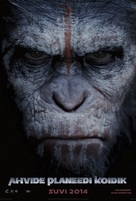 Dawn of the Planet of the Apes - Estonian Movie Poster (xs thumbnail)