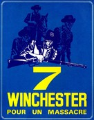 Sette winchester per un massacro - French Movie Poster (xs thumbnail)