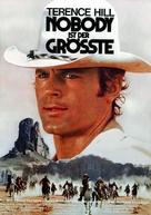 Un genio, due compari, un pollo - German Movie Poster (xs thumbnail)