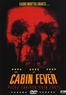Cabin Fever - Finnish DVD movie cover (xs thumbnail)
