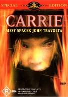 Carrie - Australian DVD cover (xs thumbnail)