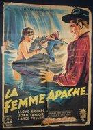Apache Woman - French Movie Poster (xs thumbnail)