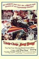 Chitty Chitty Bang Bang - Swedish Movie Poster (xs thumbnail)