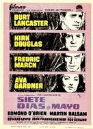 Seven Days in May - Spanish Movie Poster (xs thumbnail)