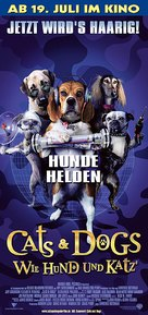 Cats & Dogs - German poster (xs thumbnail)