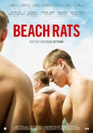 Beach Rats - German Movie Poster (xs thumbnail)