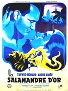 Golden Salamander - French Movie Poster (xs thumbnail)