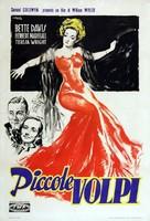 The Little Foxes - Italian Movie Poster (xs thumbnail)