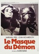 La maschera del demonio - French Movie Poster (xs thumbnail)