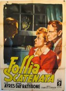 Fingers at the Window - Italian Movie Poster (xs thumbnail)